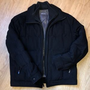 Kenneth Cole wool bomber